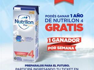 1 año de nutrición gratis!