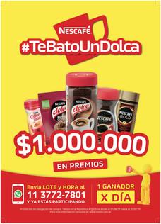 #TeBatoUnDolca 3.0