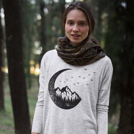 moon mountain shirt