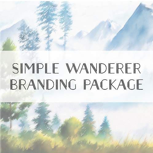 Simple Wanderer Branding Package