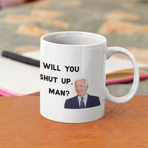 Debate Quote 11 oz Ceramic Mug