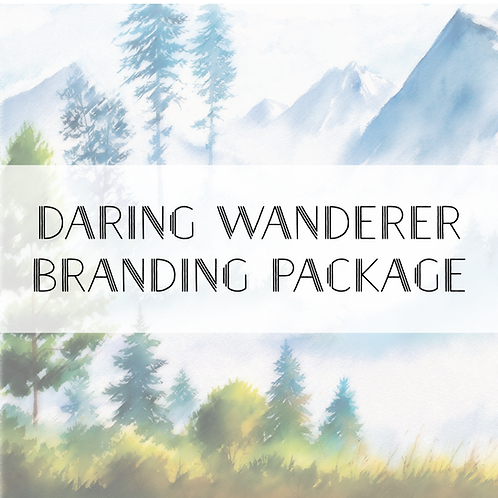 Daring Wanderer Branding Package
