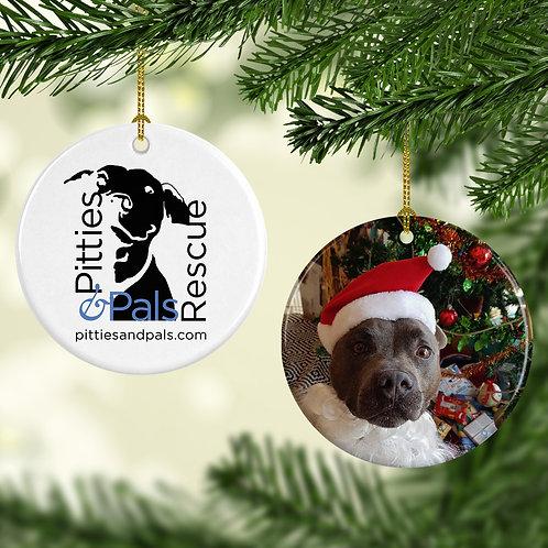 Pitties & Pals Custom Ornament Fundraiser