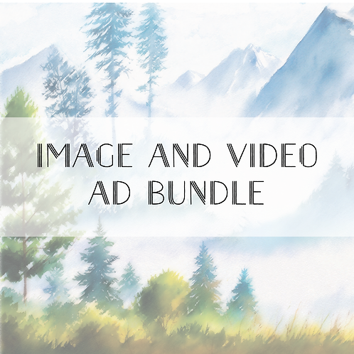 Social Media Image and Video Ad or Banner Bundle