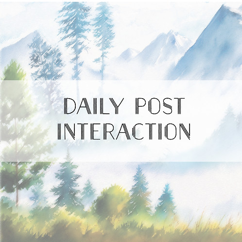 Daily Post Interaction Add-On
