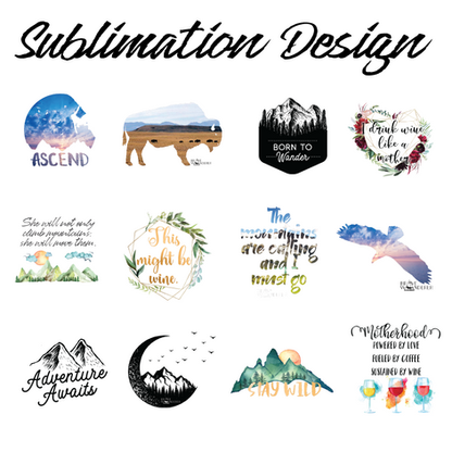 sublimation design examples