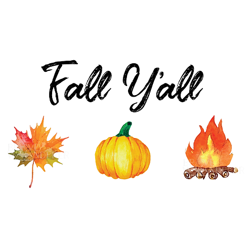 Fall Y'all PNG