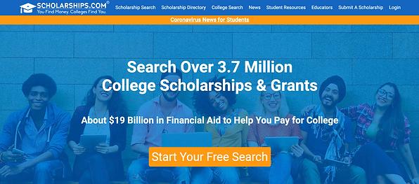 Scholarships.com Scholarship Search