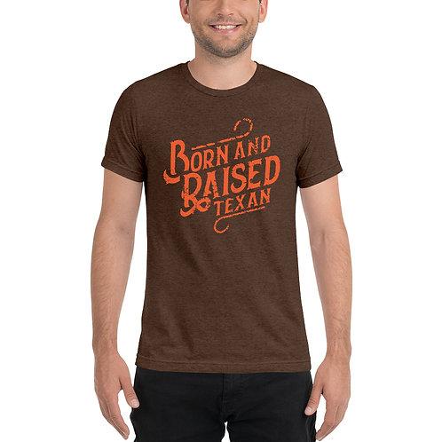 BORN & RAISED   Unisex Bella+Canvas Tri-Blend T-Shirt  3413