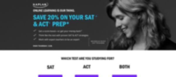 Kaplan ACT and SAT Preparation