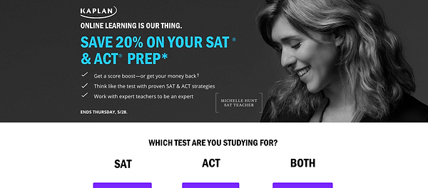 Kaplan ACT and SAT Preparation