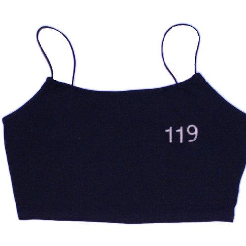 119 Crop Cami (Black)