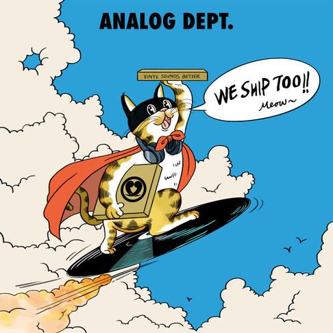 Analog Dept. - commission