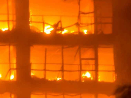 השלכות נזקי האש על בית עסק
