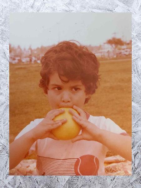 תמונה ישנה של קרן שצולמה ב1983
