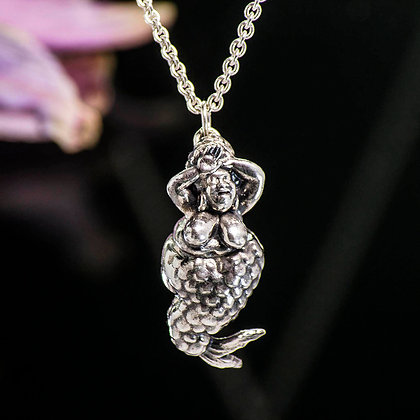Fat Mermaid Sterling Silver