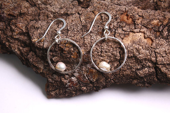 Baroque Pearl Earrings Mermaid Tears Collection