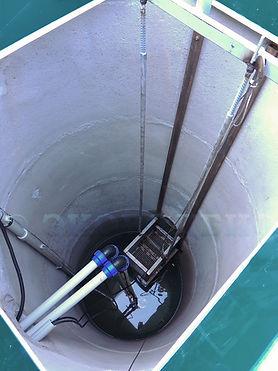 КНС, канализационная насосная станция, корзина, направляющие, канализация, очистка сточных вод