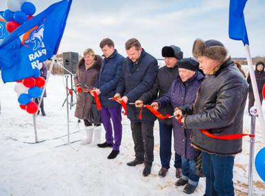 Два новых водозаборных узла и очистные сооружения введены в эксплуатацию в Рузском районе Московской