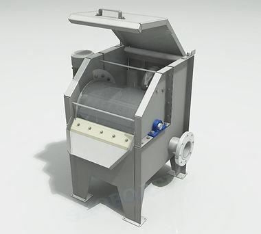 МРБ-61 Механическая ршетка барабанного типа, барабанное сито