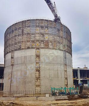 цилиндрическая опалубка, круглая опалубка, цилиндрический резервуар, бетонный резервуар, монолитный резервуар, монолитный цилиндрический резервуар, опалубка цилиндрических резервуаров