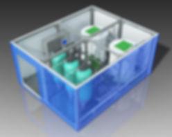 очистные сооружения модульного типа