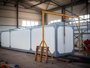"""Очистные сооружения поверхностных сточных вод """"ЭкоВодБио-П"""" в контейнерном исполнении пере"""