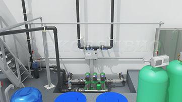 ВЗУ, станция водоподготовки, очистка питьевой воды, насосная станция второго подъема, проектирование