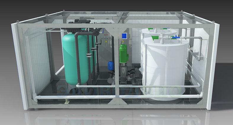 очистные сооружения хозяйственно бытовых сточных вод, очистные сооружения хозяйственно-бытовых сточных вод, очистные сооружения модульного типа