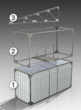 блочно модульные очистные сооружения контейнерного типа