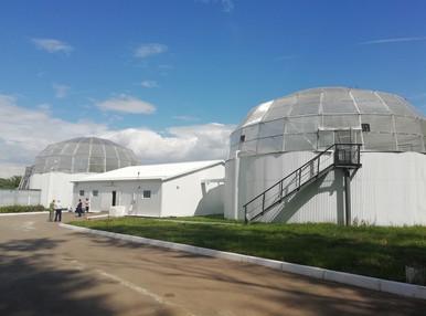 В Донском впервые за 50 лет появились новые очистные сооружения
