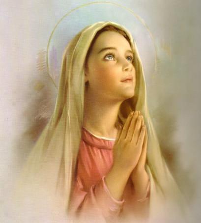 5 de agosto, cumpleaños de la Virgen María