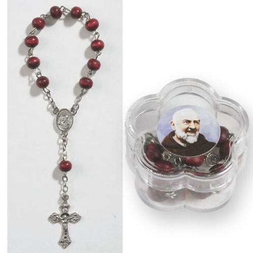 Decenario perfumado de Padre Pío