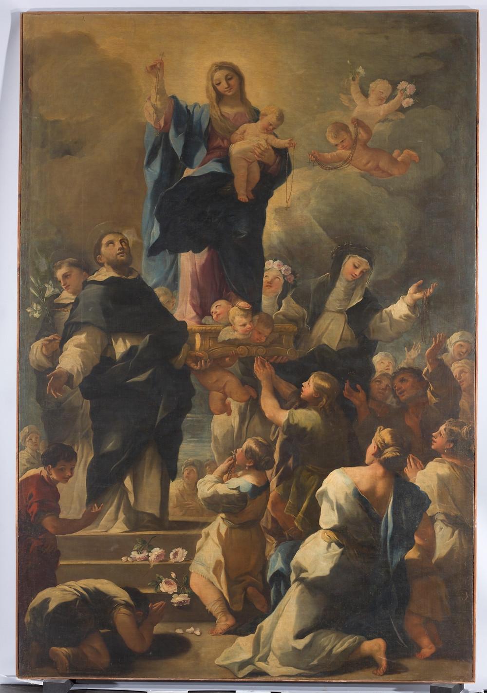 Finales del siglo XVII - Principio del siglo XVIII. Óleo sobre lienzo, 305 x 208 cm. Museo del Prado