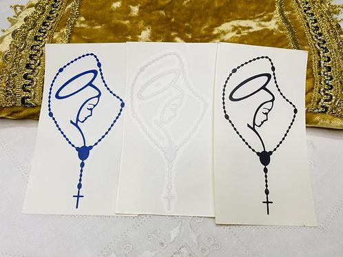 Sticker del rosario
