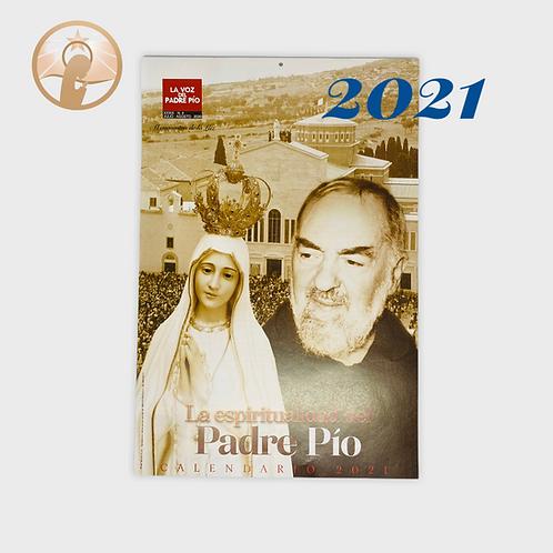 Calendario La Espiritualidad del Padre Pío
