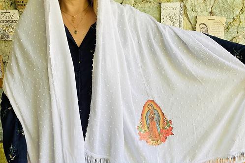 Manto liso Virgen de Guadalupe
