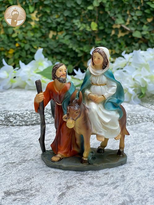 María y José pidiendo posada