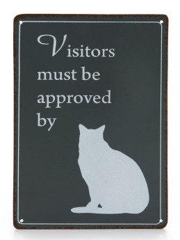 Bord Visitors Kat