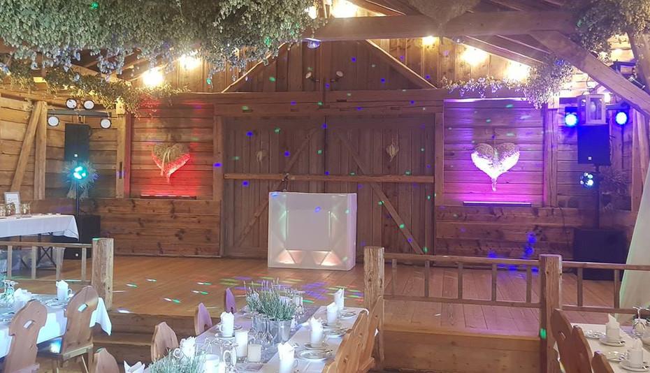 Beispiel Aufbau Hochzeit Ulm