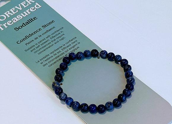 Bracelet simple Sodalite