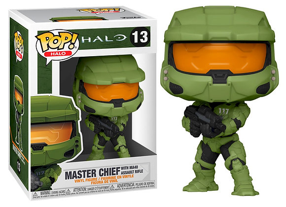Pop! Master Chief with MA40 assault rifle 13