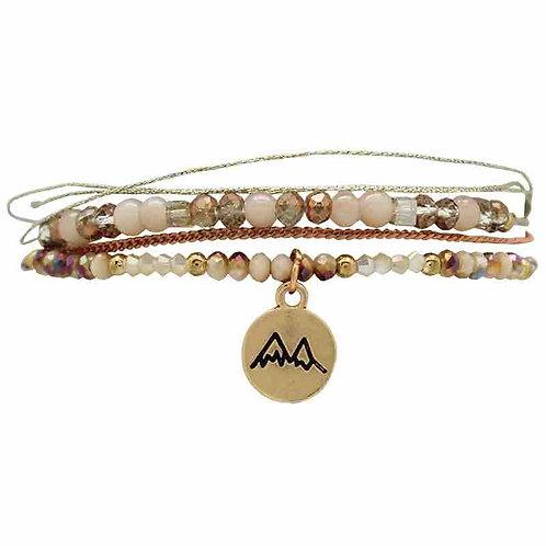 Bracelet montagnes