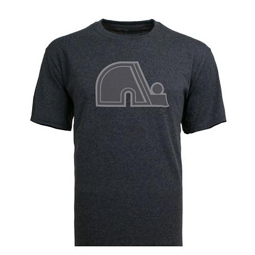 T-shirt Nordiques NHL '47 Carbon Tee