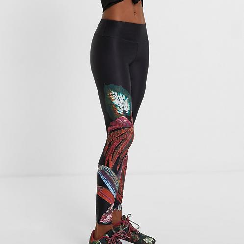 Legging sport ceinture élastique