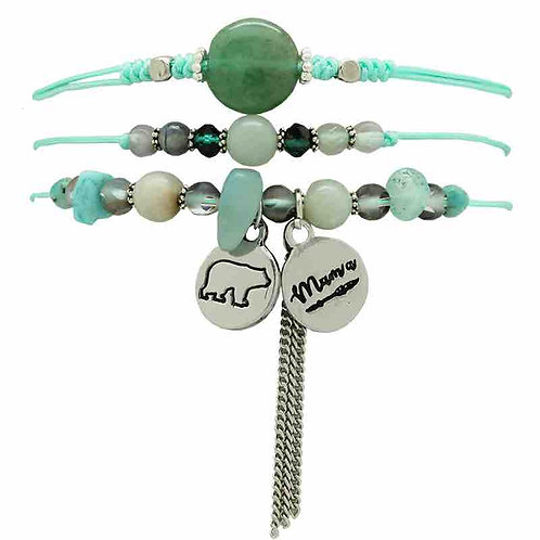 Bracelet maman ours