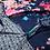 Thumbnail: Foulard rectangulaire double imprimé