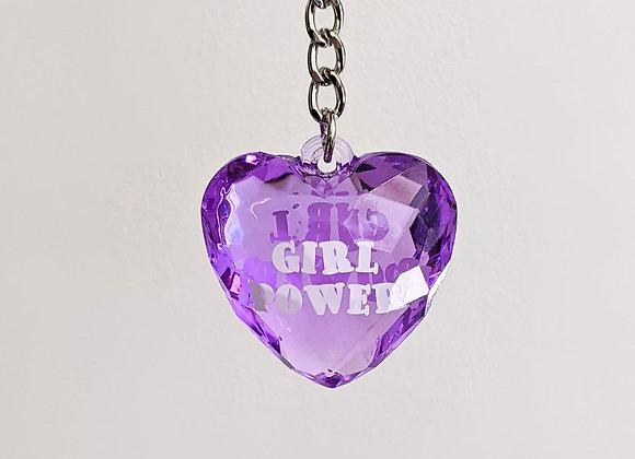 Porte clé Girl Power