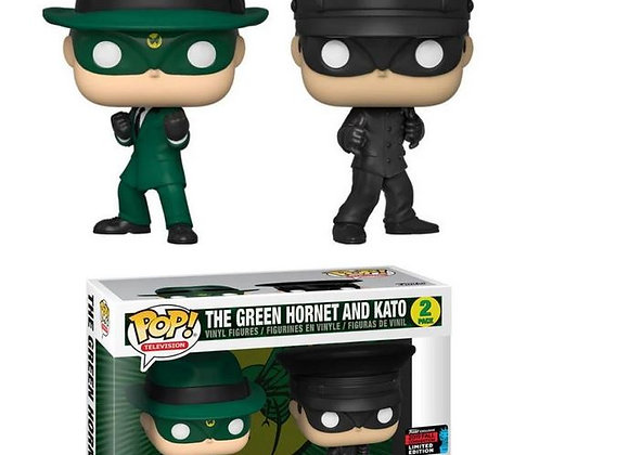 Pop! The green hornet and kato 2 pack