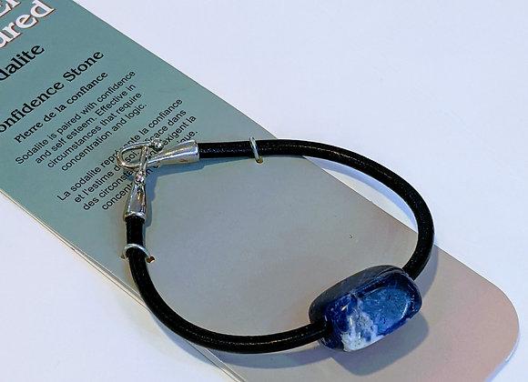 Bracelet une pierre Sodalite
